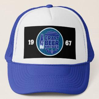 Casquette Logo bleu du brasseur -1967 de bière de métier