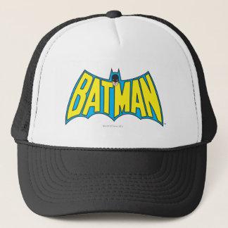Casquette Logo bleu jaune vintage de Batman |