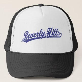 Casquette Logo de manuscrit de Beverly Hills dans le bleu