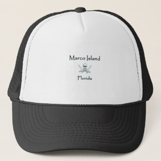 Casquette Logo de pirate d'île de Marco