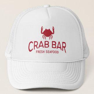 Casquette Logo frais de fruits de mer de barre de crabe
