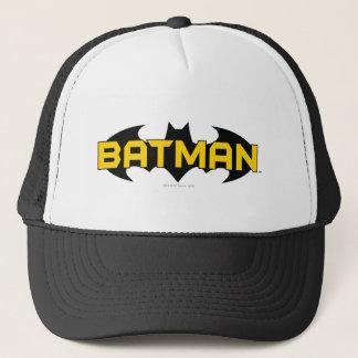 Casquette Logo jaune du symbole | de Batman et noir nommé
