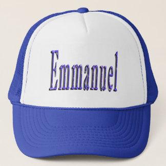Casquette Logo nommé d'Emmanuel,