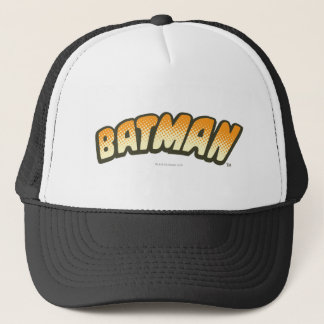Casquette Logo tramé orange de Batman |