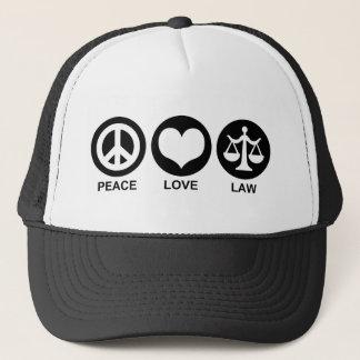 Casquette Loi d'amour de paix