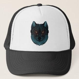 Casquette Loup avec les yeux rougeoyants