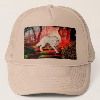 Casquette Loup blanc - loup arctique - loup américain