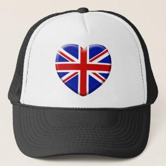 Casquette love drapeau Angleterre