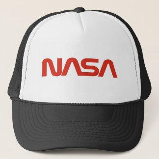 Casquette LUMIÈRE de logo rouge de serpent de la NASA