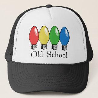 Casquette Lumières d'arbre de Noël de vieille école