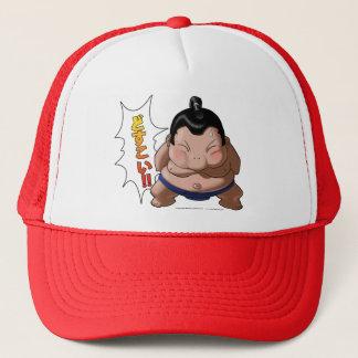 Casquette Lutteur drôle de sumo avec Dosukoi