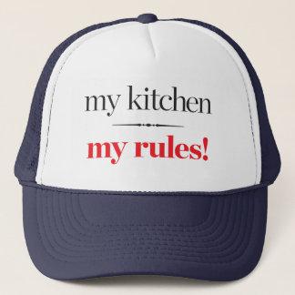 Casquette Ma cuisine, mes règles