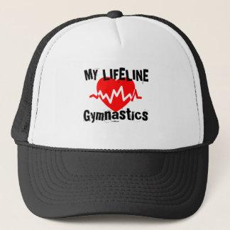 Casquette Ma ligne de vie gymnastique folâtre des