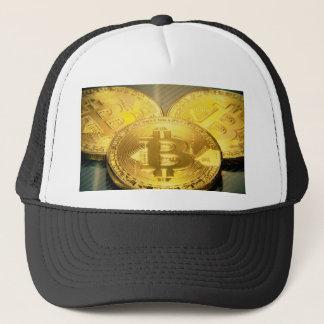 Casquette Macro grand mojo rond de Bitcoins