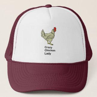Casquette Madame folle de poulet