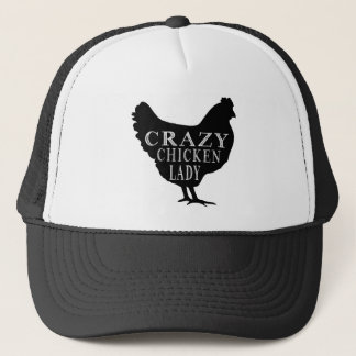 Casquette Madame folle mignonne de poulet