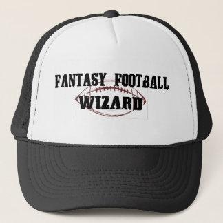 Casquette Magicien du football d'imaginaire