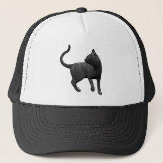 Casquette malfaisant de chat noir