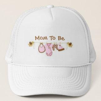 Casquette Maman à être
