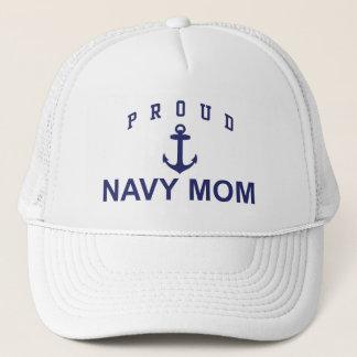 Casquette Maman fière de marine