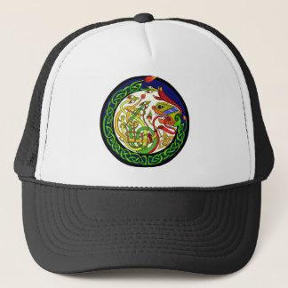 Casquette Mandala celtique de dragon de noeud