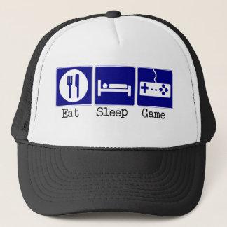 Casquette Mangez, dormez, jeu