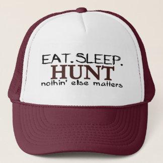 Casquette Mangez la chasse à sommeil