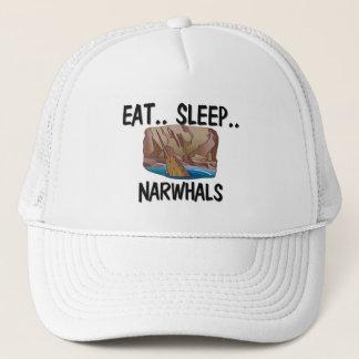Casquette Mangez le sommeil NARWHALS