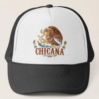 Casquette Manteau de Chicana Mexique des bras