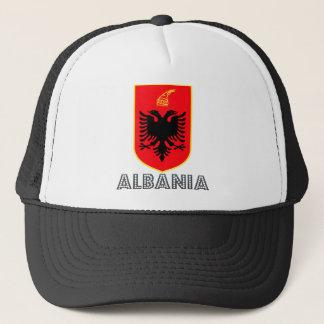 Casquette Manteau de l'Albanie des bras