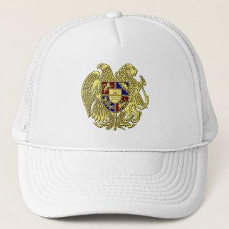 Casquette Manteau de l'Arménie des tons de bijou de bras