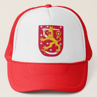 Casquette Manteau des bras de la Finlande - le Suomen