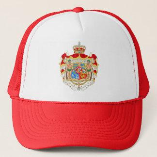 Casquette Manteau des bras royal danois vintage du Danemark