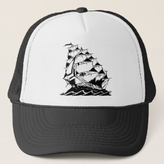 Casquette Marine de bateau de navigation de tatouage d'Olds