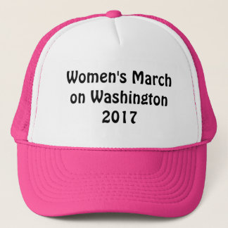 Casquette Mars des femmes sur Washington 2017