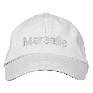 Casquette Marseille Casquette Brodée