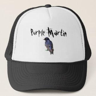 Casquette Martin pourpre