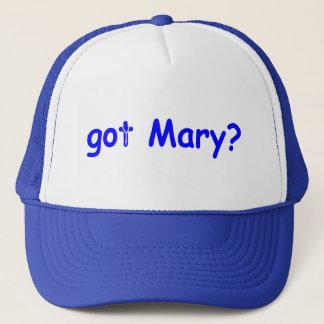 Casquette Mary obtenue ?