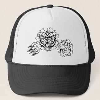 Casquette Mascotte animale de Gamer d'Esports de tigre