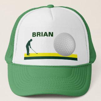 Casquette masculin de golf personnalisable
