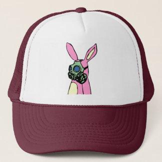 Casquette Masque de gaz rose de lapin