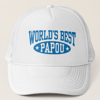 Casquette Meilleur Papou du monde
