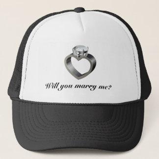 Casquette M'épouserez-vous ?