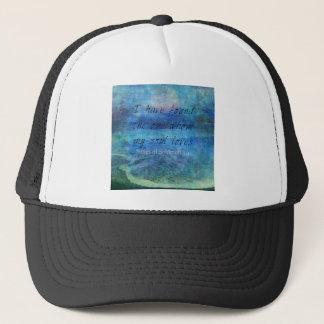 Casquette Mer d'océan d'écriture sainte d'art de vers de