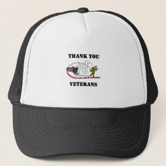 Casquette Merci vétérans - Thank you veterans