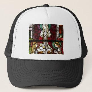 Casquette Mère Mary et Jésus de Vitrage de Noël