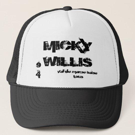 Casquette MICKY WILLIS, val de marne baise tous, 94