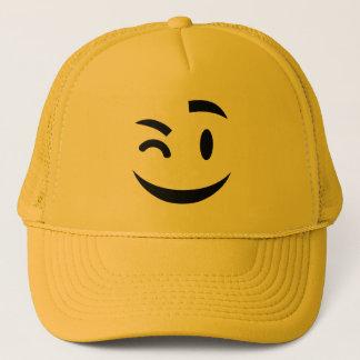Casquette Mignon clignant de l'oeil à vous l'emoji