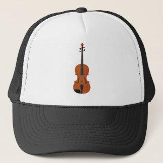 Casquette Modèle du violon 3D : Finition du bois