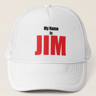 Casquette Mon nom est JIM